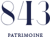 843 Patrimoine Logo